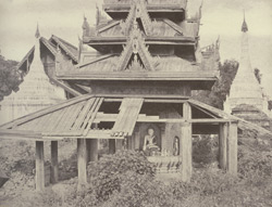 No. 30. Tsagain Myo [Sagaing]. Ruined Tazaung.